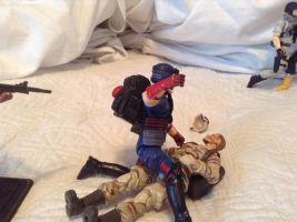 Cobra viper vs. dusty by Actionfigureart
