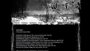 Winter Forest Records by lemetallum
