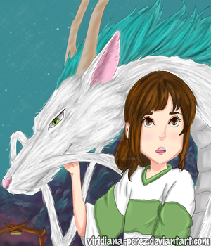 Spirited Away by Viridiana-Perez
