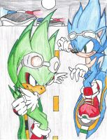 Sonic Riders : Where It All Be by JetStriker96