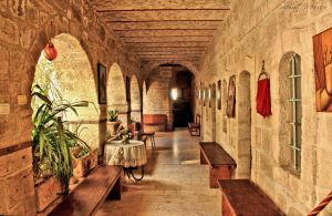 Inside the monastery by ShlomitMessica