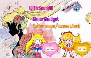 Sailor Moon-Venus Clocks by RainboWxMikA