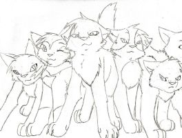 members of my RolePlay by ThrushFeather