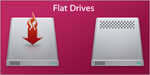 Flat Drives for Mac by susumu-Express