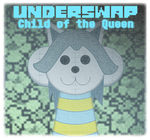 Underswap - Child of the Queen - Cover Page by jtgp-Chromrea