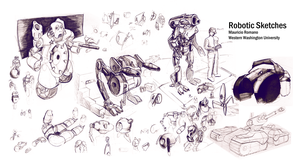 Robotic Sketches by MauricioRomano