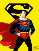 Superman by Urieck