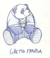Ghetto Panda by TwiggyMcBones