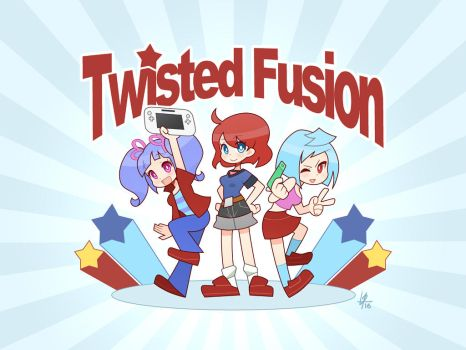 Twisted Fusion by Louistrations