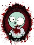 Zeke the spokes-zombie by spookyspinster