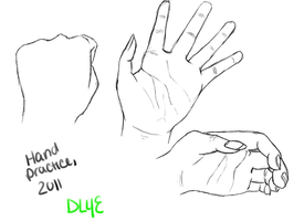 Hand Practice by DragonLover4Ever