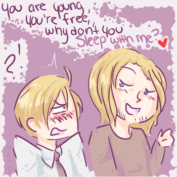 APH - FrUS - Shut Up by ChaoticMiko