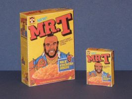 Mr. T Cereal Box Papercraft by Tektonten