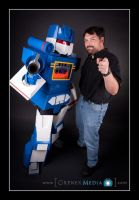 Soundwave in Photo Shoot by Scream01