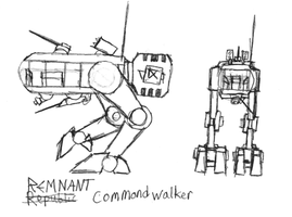 Remnant Command Walker by IrateResearchers