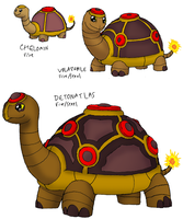 4th Fire Starter: Hello, Mine Turtle by FawkesTheSkarmory