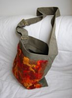 bag with felted pannel 2 by were-were-wolfy