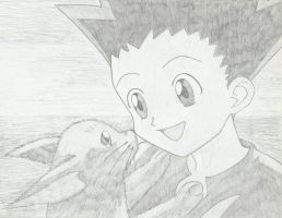 Gon Freecss: A Boy and His Pet by MegumiOkaya