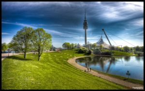 Munich Olympiapark - WP by superjuju29