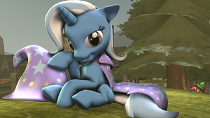 It is the Trixie poni by zOMG-a-DropBear
