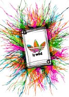 "Adidas Contest ""Is Wild""ver3 by aangita"