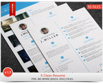 X Clean Resume 1.7 ( 2015 ) by khaledzz9