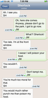 The Personal Text Log of Dr. John Watson Pt. 6a by blissfulldarkness