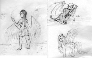 Just some sketches by Ms-Silver