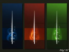 three colors by oNh