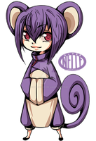 Rattata Gijinka by SuperNelle