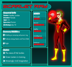Young Justice Scarlet Ray Heather Jordan Stats by KiteBoy1