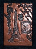 Polymer Clay ACEO Paris by ValerianaSolaris