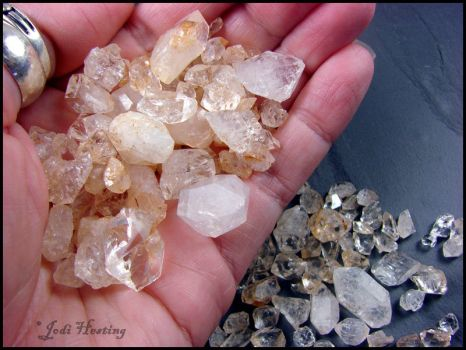 Quartz Crystal Points - We found these ourselves by andromeda