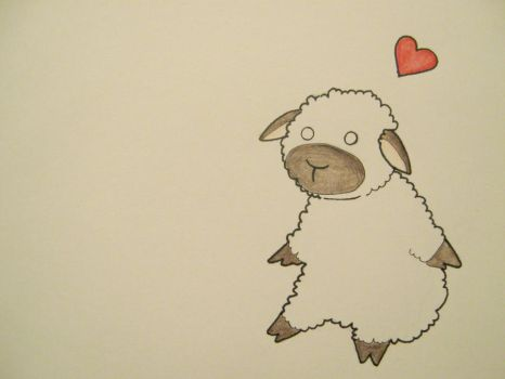 Love: Sheep by doyle0915