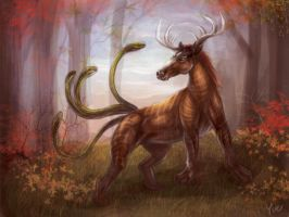 Creature Speedpaint by Yue-Iceseal