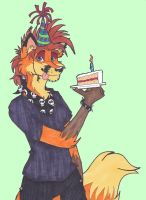 Moxi Birthday 2012 by CaptainKPeanuts