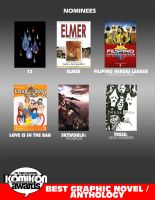 BEST GRAPHIC NOVEL - ANTHOLOGY by komikon