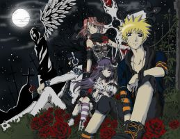 Naruto Gothic by c-plaus