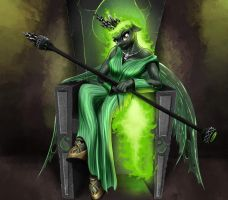 Commission: Queen Igneus' Throne by MykeGreywolf
