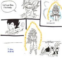 Vegeta's Tantrum by elitedragongoku