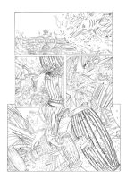 A sample page of Namor by rubenslima