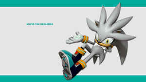 Sonic Channel Wallpaper 2011: Silver by Lucas-da-Hedgehog