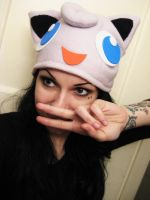 Jigglypuff hat by AshtrayheartRomina