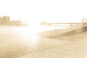 River, Light and Steam by GregShanta