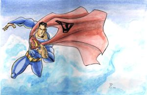 superman by DCarelli