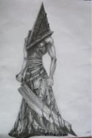 Silent Hill - Pyramid Head by DebbieHeal
