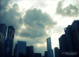 Chicago Skyline by weirdlynormal249