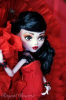 OOAK Monster High doll Draculaura Mattel repaint c by Deliciouslyforbidden