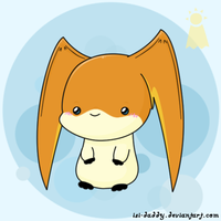 Chibi Patamon by Isi-Daddy
