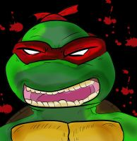 TMNT Bloody Rage Front Cover by SpiritOfTheWolf87
